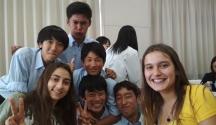 Delegadas al XXI Foro Internacional de Japón